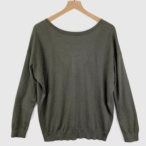 Brunello Cucinelli Cashmere Sweater Low V Back